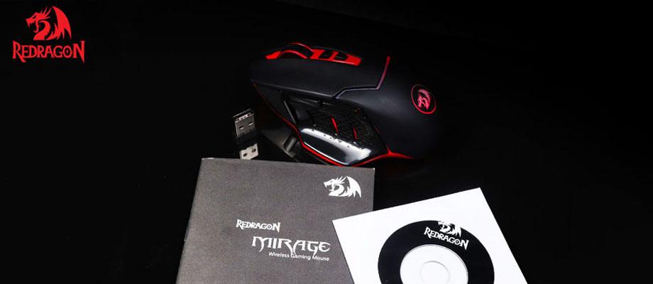 เมาส์ไร้สาย Redragon RD-M690 Gaming Mouse ราคา