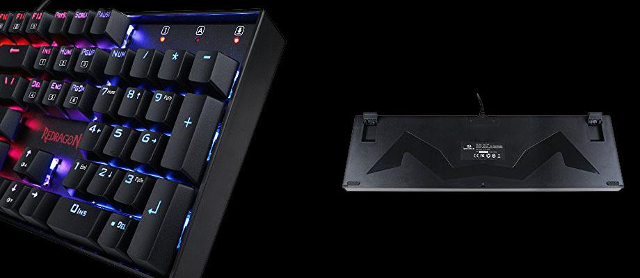 คีย์บอร์ด Redragon RD-K552 Mechanical Keyboard จุดเด่น