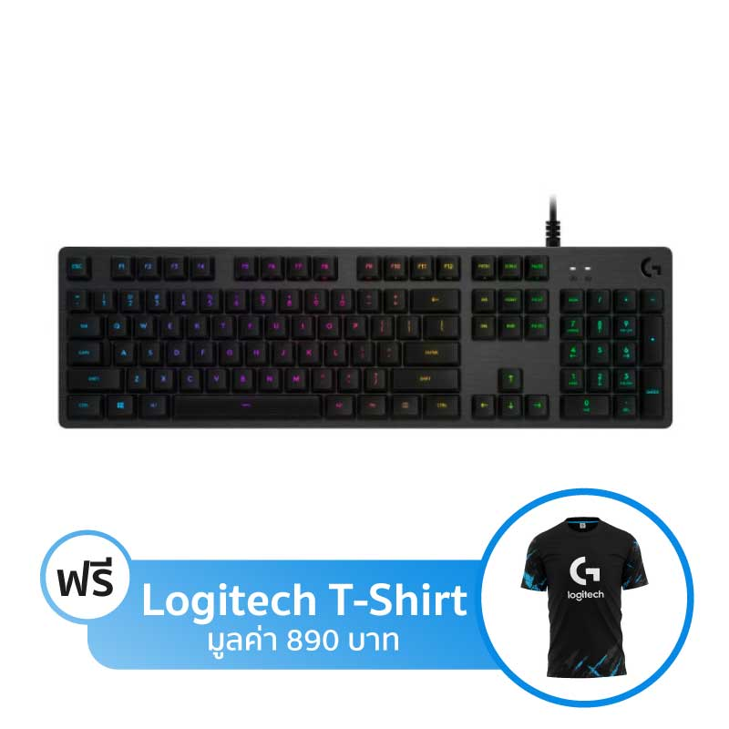 คีย์บอร์ด Logitech G512 RGB Mechanical Keyboard (TH)