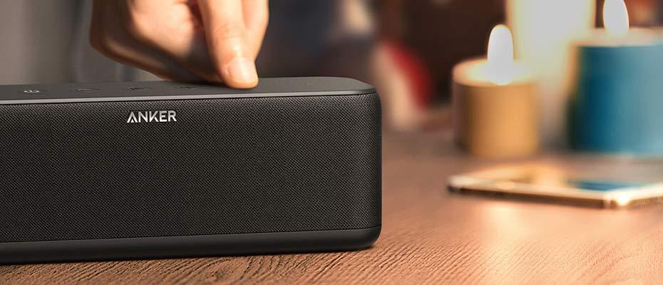 ลำโพงบลูทูธ Anker SoundCore Boost Bluetooth Speaker