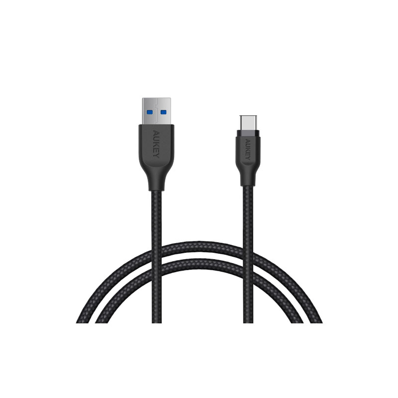 สาย Aukey CB-AC2 3.1 GEN1 USB-C to USB Aluminum Head Cable สี