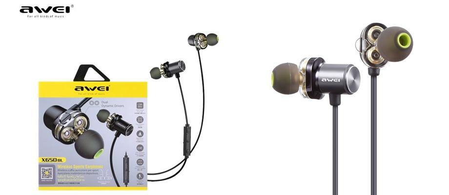 หูฟังไร้สาย Awei X650BL In-Ear  รีวิว