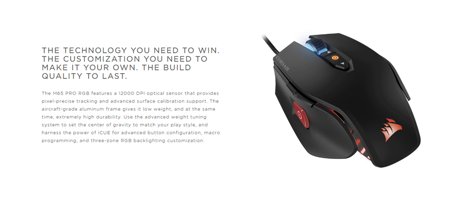 Corsair M65 RGB Elite Gaming Mouse ราคา