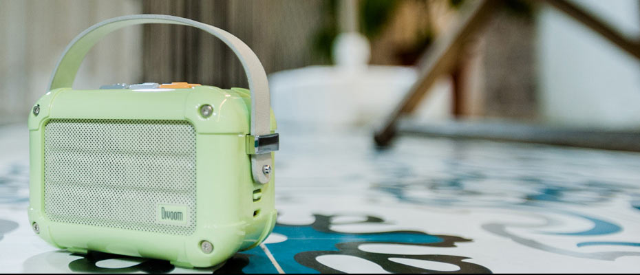 ลำโพงพกพา Divoom Macchiato Bluetooth Speaker