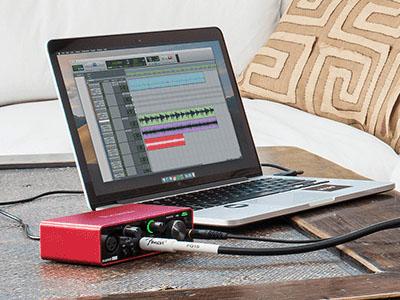 Focusrite Scarlett Solo 3rd Gen USB Audio Interface AIR Mode