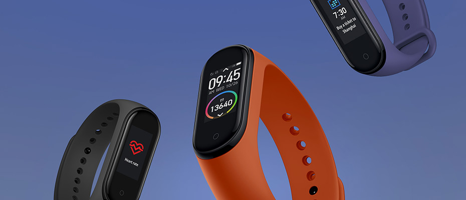 Mi Band 4 Fitness Tracker