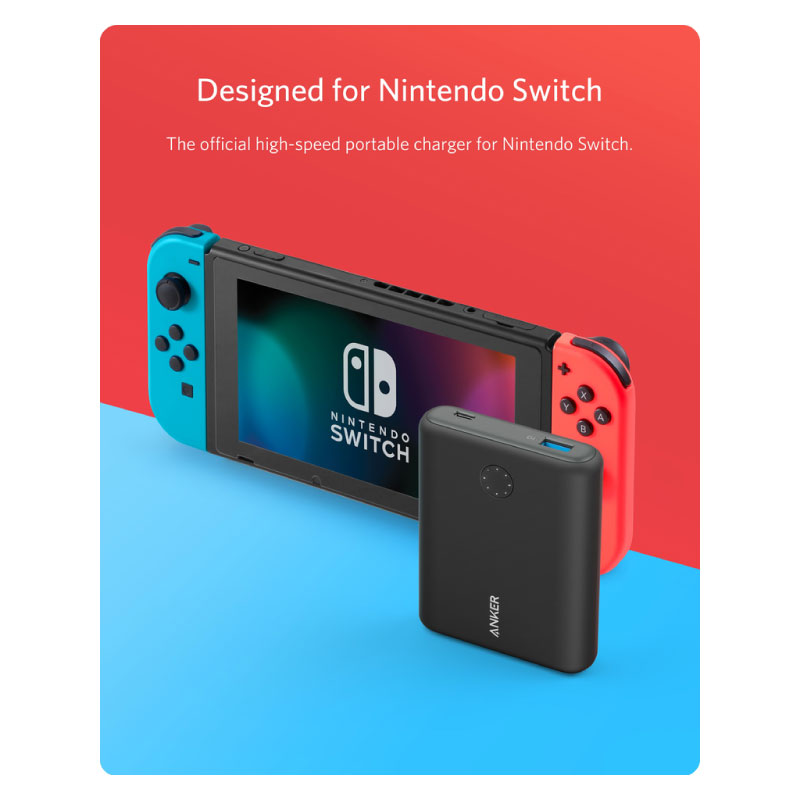 แบตสำรอง Anker PowerCore 13400 Nintendo Switch Edition ขาย