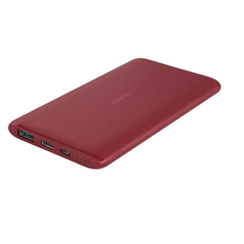 แบตสำรอง Aukey PB-XN5 5000mAh Slim USB-C PowerBank Fast Charge ขาย