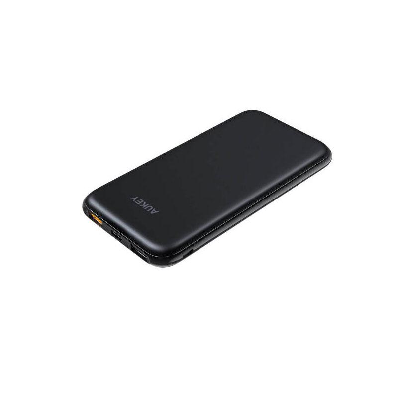 แบตสำรอง Aukey PB-Y13 10,000mAh Slim USB-C PowerBank Quick Charge