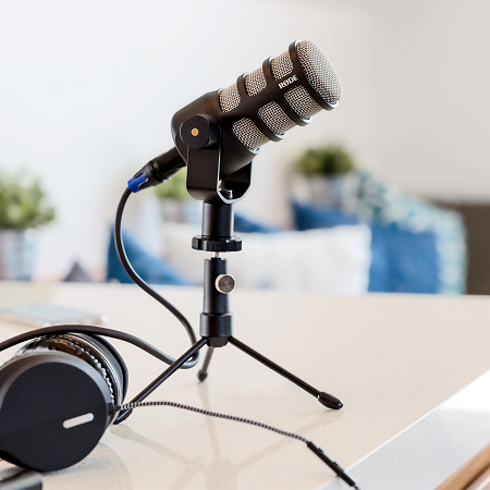 Rode PodMic Dynamic Podcasting Microphone รีวิว