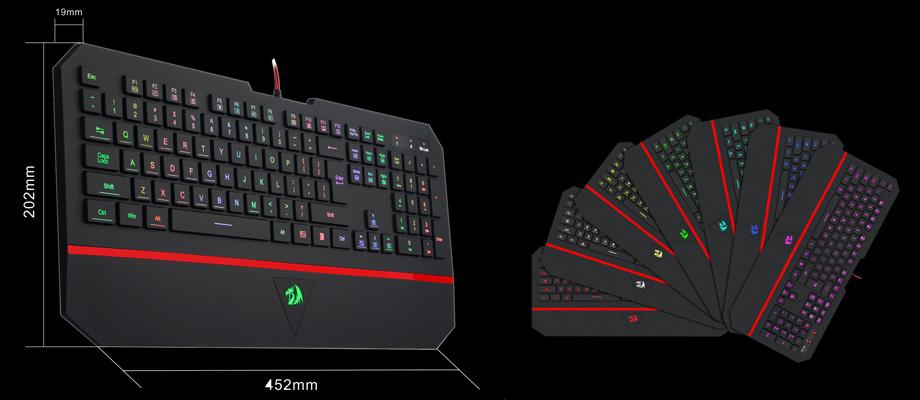 คีย์บอร์ด Redragon RD-K502 Keyboard สเปค