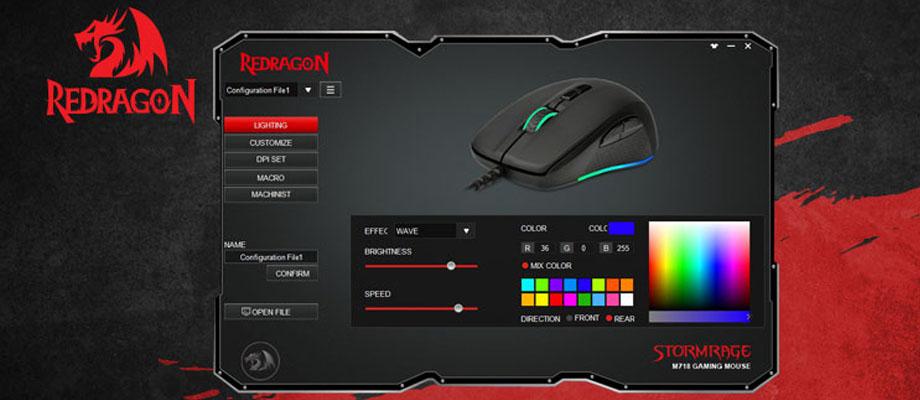 เมาส์ Redragon RD-M718 Gaming Mouse ราคา