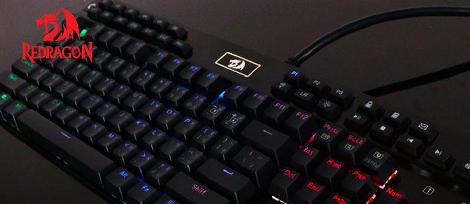คีย์บอร์ด Redragon RD-K550 Mechanical Keyboard รีวิว