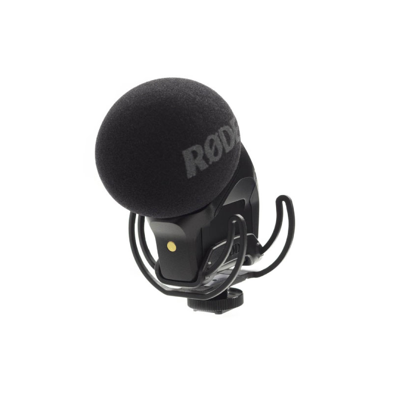 Rode SVMPR Stereo VideoMic Pro with Rycote Lyre Suspension Mount