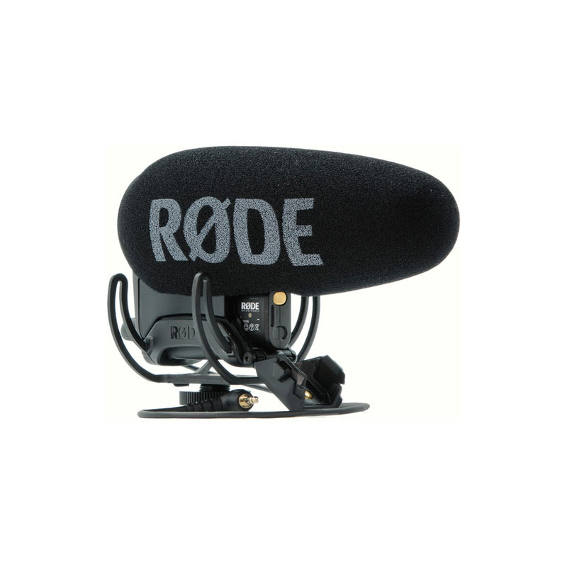Rode VMP+ VideoMic Pro+ On-Camera Shotgun Microphone With LB1 ReChargeable Battery