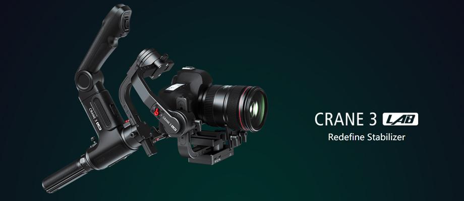รีวิว ไม้กันสั่น Zhiyun CRANE 3 LAB Creator Package