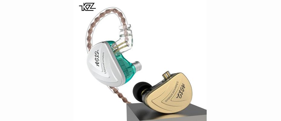 หูฟัง KZ AS12 In-Ear ขาย
