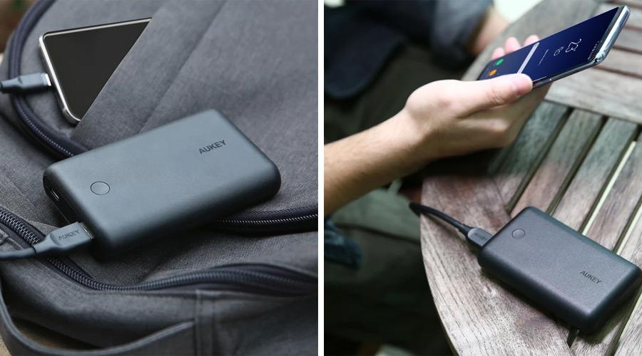 แบตสำรอง Aukey PB-XD10 10000mAh USB-C PowerBank with Quick Charge รีวิว