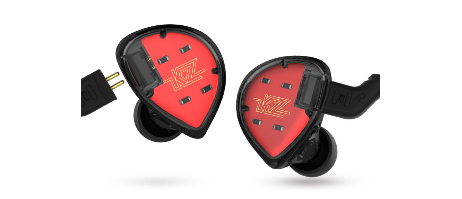 หูฟัง KZ ES4 In-Ear ขาย