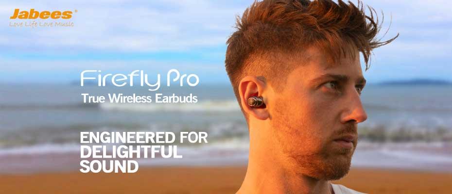 หูฟังไร้สาย Jabees Firefly Pro True Wireless ราคา