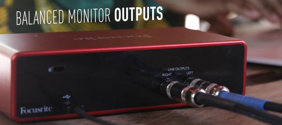 Focusrite Scarlett 2i2 3rd Gen USB Audio Interface สเปค