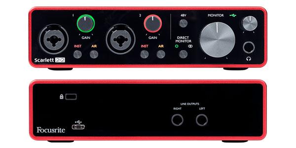 Focusrite Scarlett 2i2 3rd Gen USB Audio Interface ดีไหม
