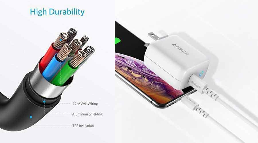 สายชาร์จ Anker PowerLine Select USB-C to Lightning ราคา