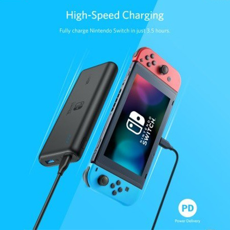 แบตสำรอง Anker PowerCore 20100 Nintendo Switch Edition PD ราคา