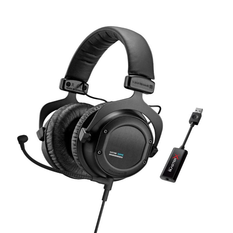 ชุดหูฟังเล่นเกม Beyerdynamic Custom + Creative G1
