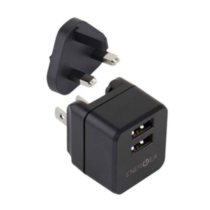 หัวแปลง Energea Wall Charger Travel Lite 2.4A 2 USB