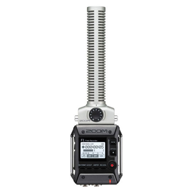 Zoom F1-SP Field Recorder & Shotgun Microphone