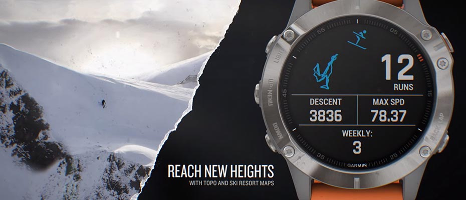 Garmin Fenix 6 Sport Watch