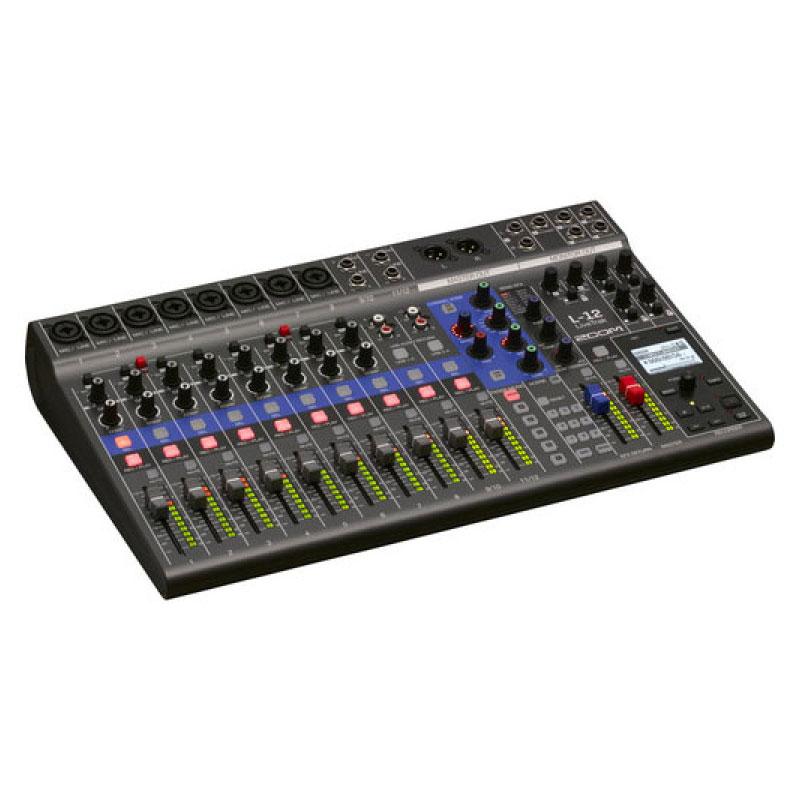 Zoom LiveTrak L-12 12 Channel Digital Mixer & Multitrack Recorder