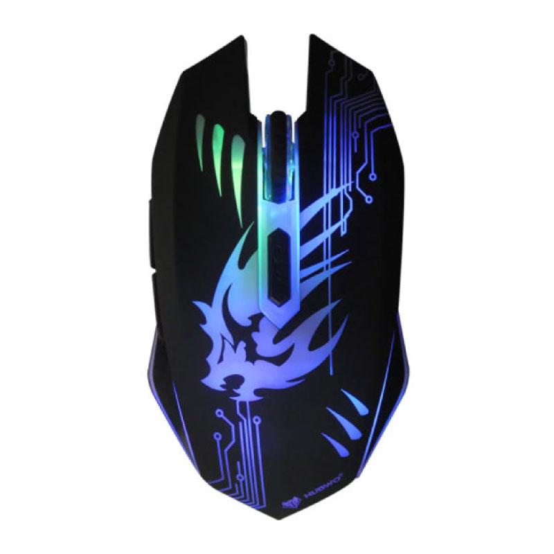 เมาส์ Nubwo Silent NM 075 Gaming Mouse