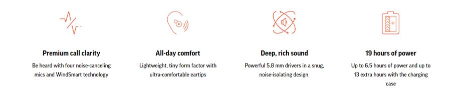 หูฟังไร้สาย Plantronics BackBeat Pro 5100 True Wireless ขาย