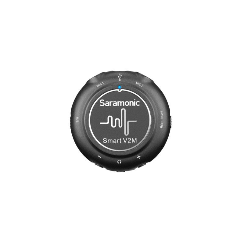 Saramonic SMART V2M Audio Audio Interface with Dual Lavalier Microphone Kit