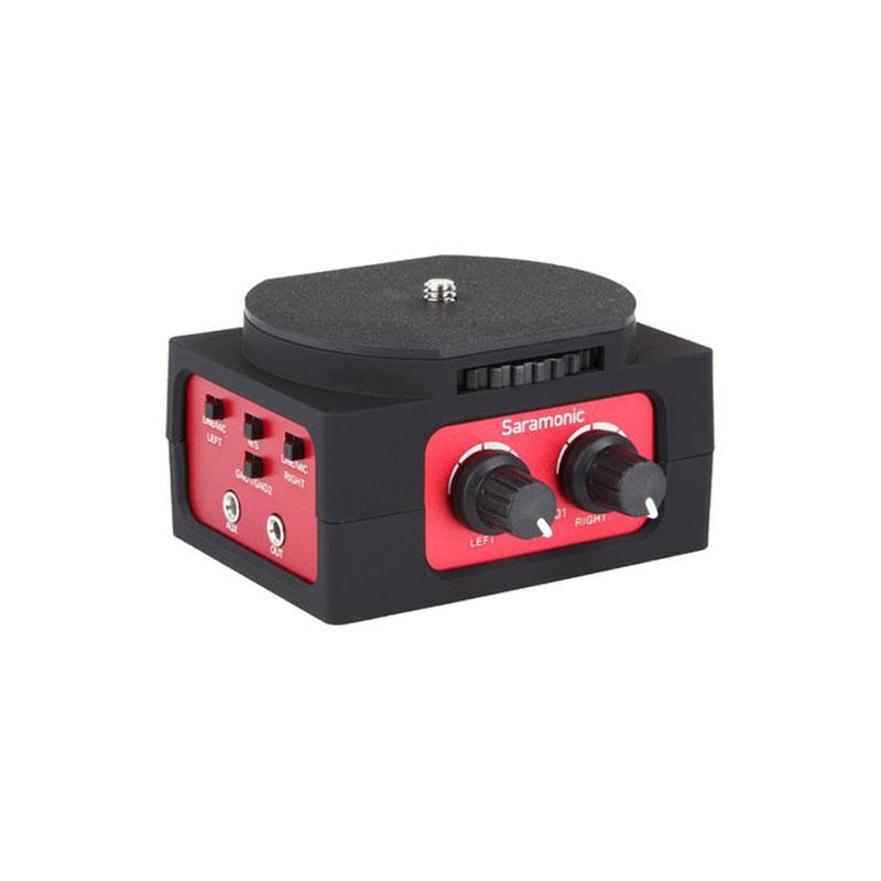 Saramonic SR-AX101 - 2-Channel Passive Audio Adapter for DSLR Camera