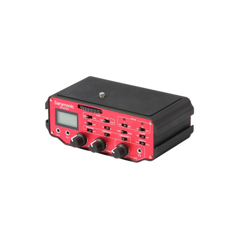 Saramonic SR-AX104 2-Channel XLR Audio Adapter for DSLR