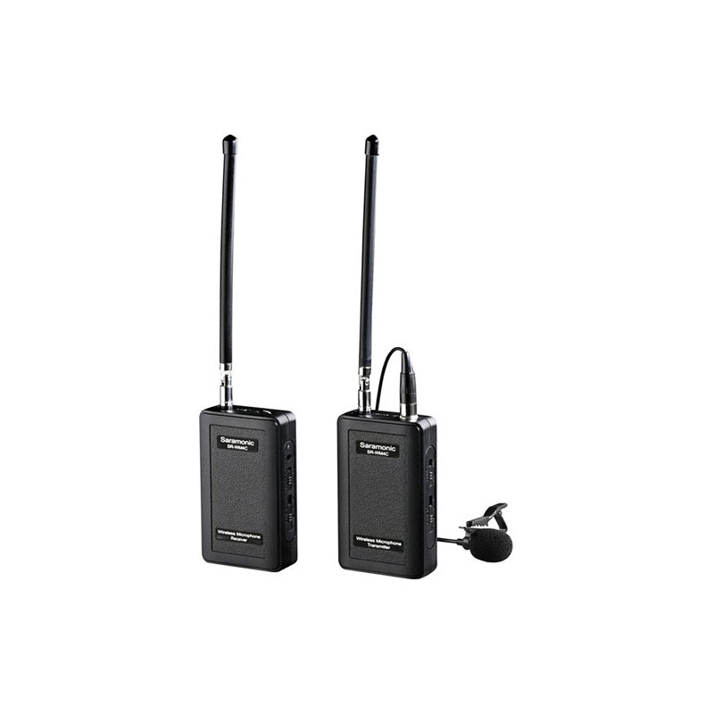 Saramonic SR-WM4C VHF Camera-Mount Wireless Omni Lavalier Microphone