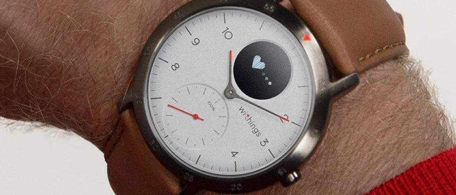 Withings Steel HR Sport 40mm Sport Watch