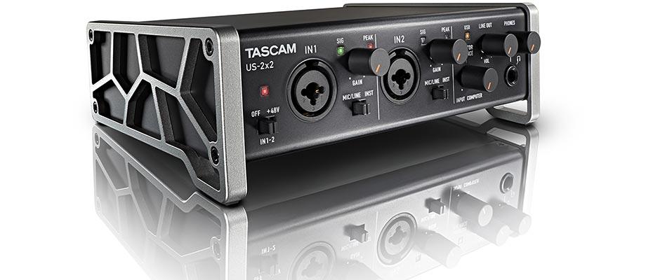 TASCAM Audio Interface US-2X2