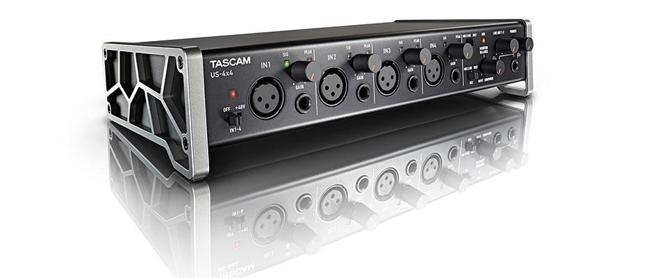 TASCAM Audio Interface US-4X4