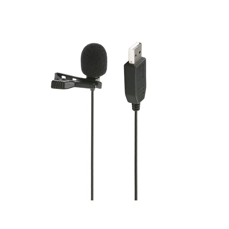 Saramonic ULM5 USB Lavalier Clip-on Computer Microphone for PC & Mac