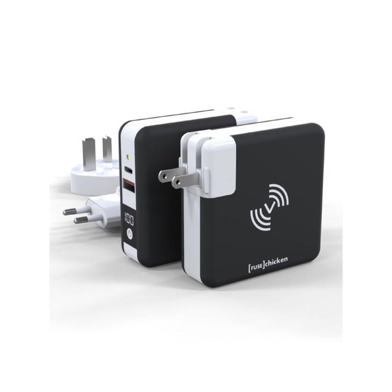 หัวชาร์จ Fuse Chicken Universal travel charger USB A,C Wireless Charging ซื้อ