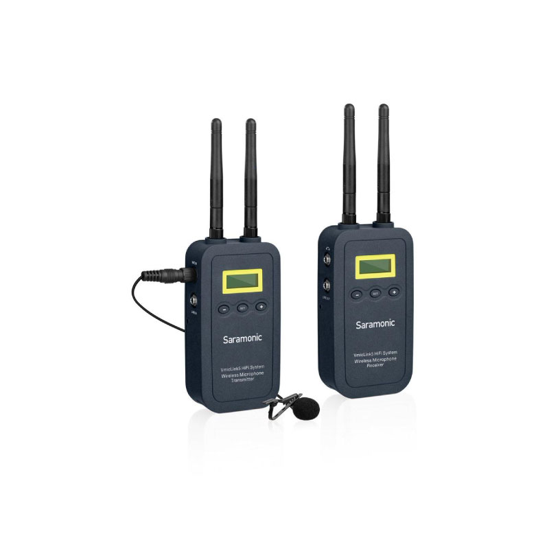 Saramonic VmicLink5 HiFi Wireless microphone system 5.8GHz Very high quality audio
