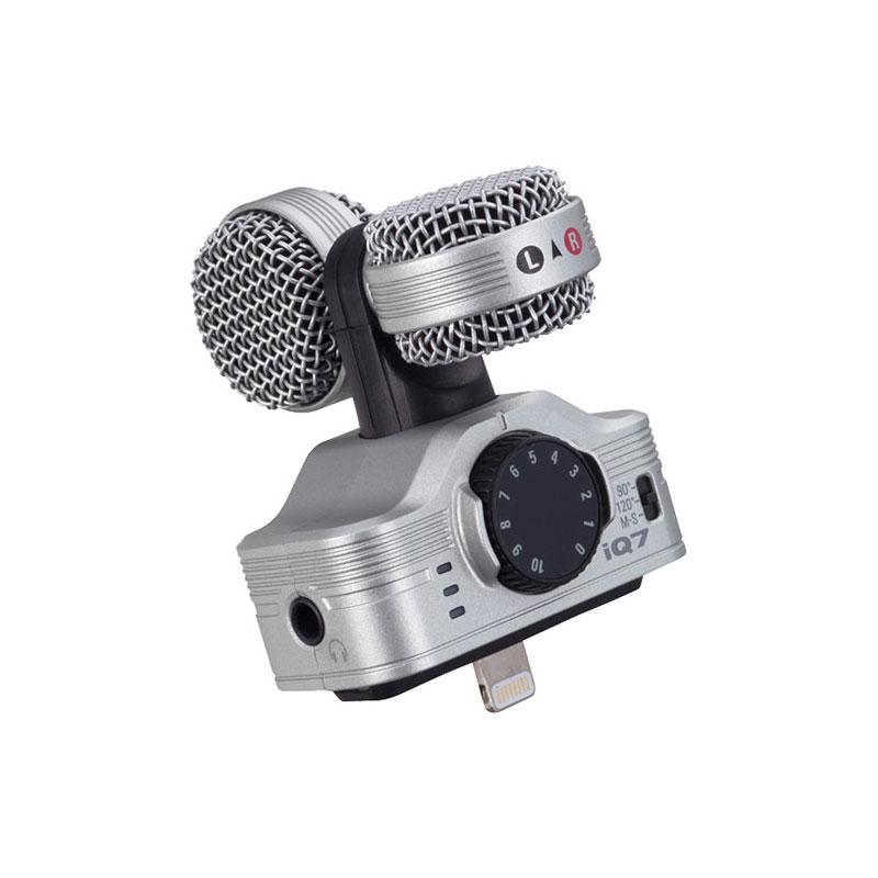 ไมโครโฟน Zoom iQ7 Professional Stereo Microphone for iOS