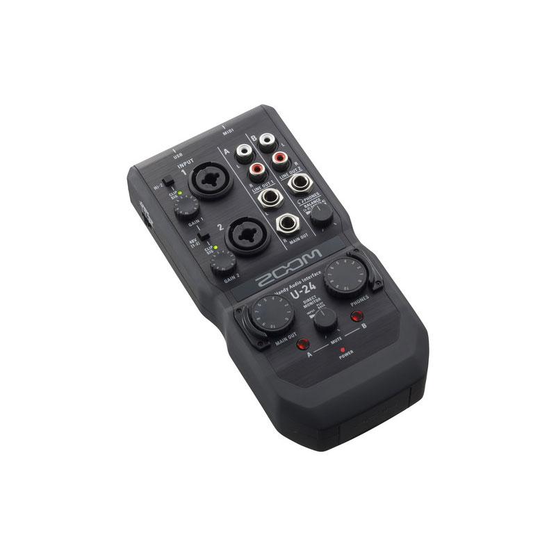 Zoom U-24 Portable Audio Interface