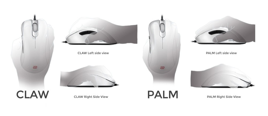 Zowie EC1-A Series White Special Edition Gaming Mouse ซื้อ-ขาย