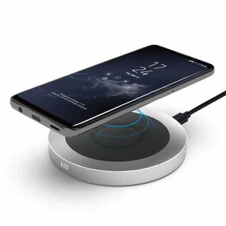 แท่นชาร์จ Just Mobile AluBase Wireless Aluminum High Speed Wireless Charger ไร้สาย