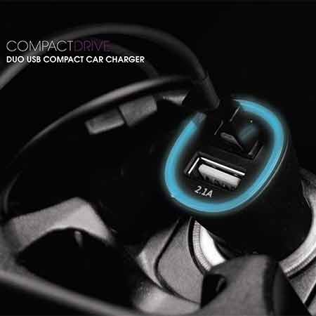 หัวชาร์จในรถ Energea Car Charger Compact drive 3.1A 2USB ราคา
